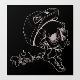 Screamer One Canvas Print