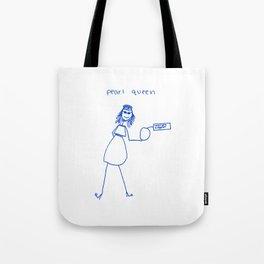 Pearl Queen Tote Bag