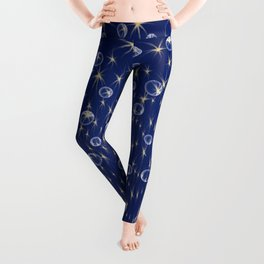 Falling Stars and Bubbles Leggings