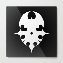 Player Pin Metal Print