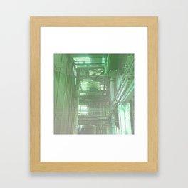 The Boiler Room Framed Art Print