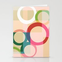 circles Stationery Cards featuring circles by clemm