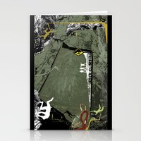 climbing Stationery Cards featuring Rock Climbing by Robin Curtiss