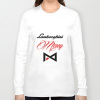 lamborghini Long Sleeve T-shirts featuring Lamborghini Mercy by André Purve