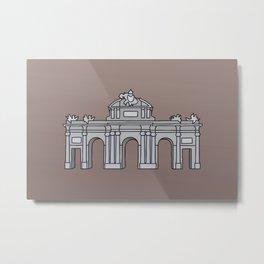 Puerta de Alcalá Madrid Metal Print