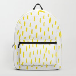 Yellow Lines Backpack