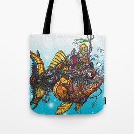 """""""Kelps"""" Seabed Tales Tote Bag"""
