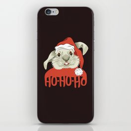 The Christmas Rabbit iPhone Skin