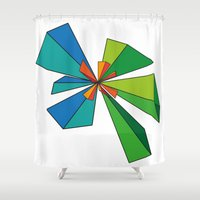 3d Shower Curtains featuring 3D by MeMRB