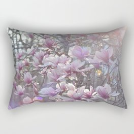 Early Spring Blossoms Rectangular Pillow
