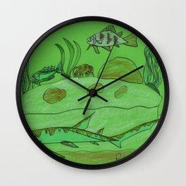 Rocky Overhang Wall Clock