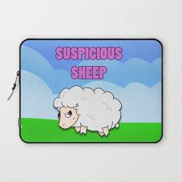 Suspicious Sheep Laptop Sleeve