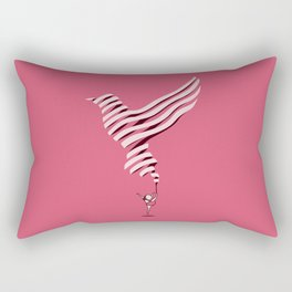 The Lark Ascending Rectangular Pillow