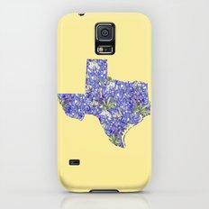 Texas in Flowers Slim Case Galaxy S5