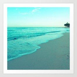calm day 05 ver.blue Art Print