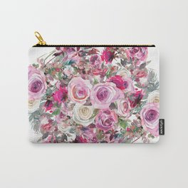 Bouquet of flowers - wreath Carry-All Pouch