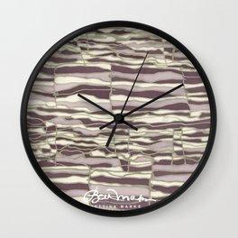 SILVER TECHNO Wall Clock