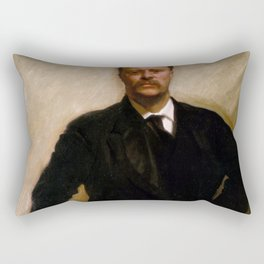 Portrait of Theodore Roosevelt (1903) Rectangular Pillow