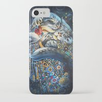 fitzgerald iPhone & iPod Cases featuring The Fitzgeralds by Christina Hess