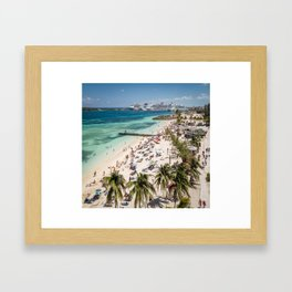 Junkanoo Beach Framed Art Print