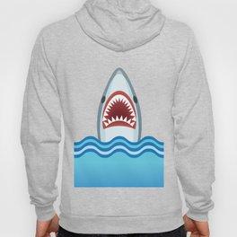 Cartoon Shark Hoody