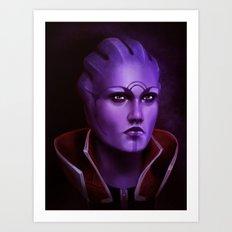 Mass Effect: Aria T'Loak Art Print