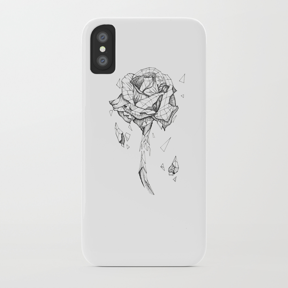 Shattered Rose Phone Case by Afterhoursarts PCS7187137