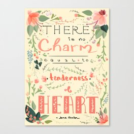 Austen Tenderness  Canvas Print