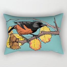 Oriole Rectangular Pillow
