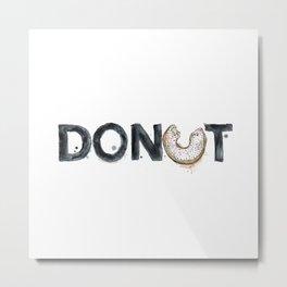 Favourite Things - Donut Metal Print