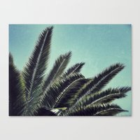 palms Canvas Prints featuring Palms by RichCaspian