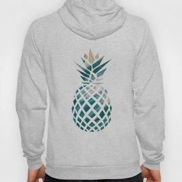 Tropical Teal Pineapple Hoody