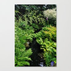 The Chinese Garden Canvas Print