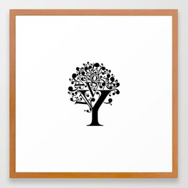 g tree Framed Art Print