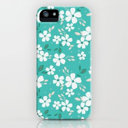 Torque Floral iPhone Case