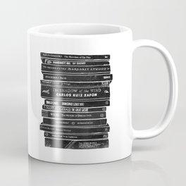 Mono book stack 2 Coffee Mug