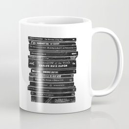 Mono book stack 2 Coffee Mug