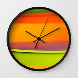 Chair Colors Wall Clock