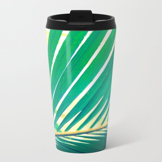 Tropical Exuberance I Metal Travel Mug