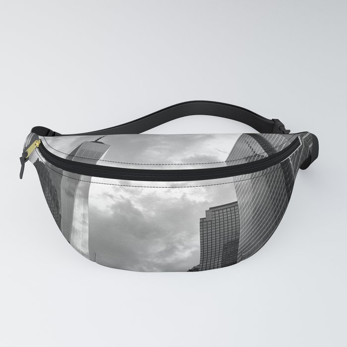 Heaven's Reach in Black and White Fanny Pack