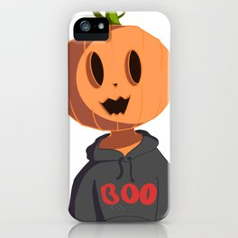 Spooky Pumpkin Boi iPhone Case