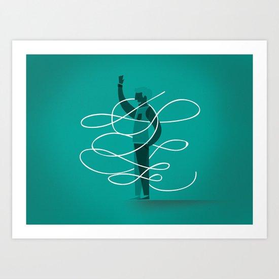 Composition 3 Art Print