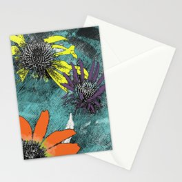 Flower Trio Stationery Cards