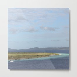 Klein Bonaire islet in the Caribbean Metal Print
