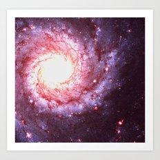 Depths Of The Universe Art Print