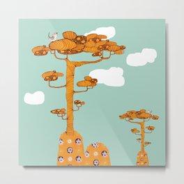 Trees. Metal Print