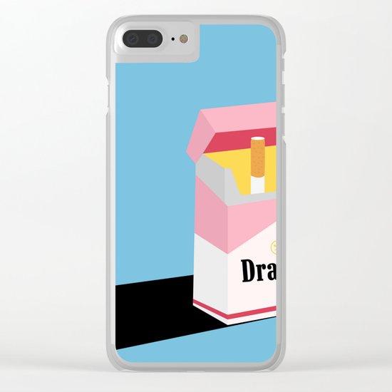 drama Clear iPhone Case