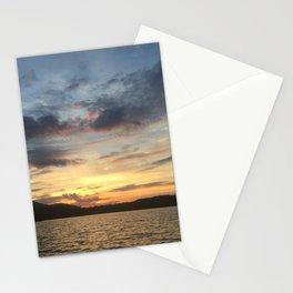 Adirondack Lake Sunset Stationery Cards