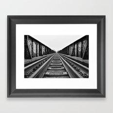 The Journey Ahead Framed Art Print