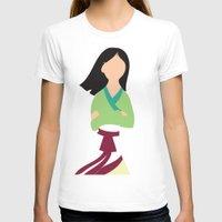 mulan T-shirts featuring Mulan by Adrian Mentus